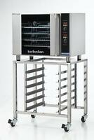 Moffat E31D4/SK2731U Electric Convection Oven Half Size 4 Pan w/ Mobile Stand