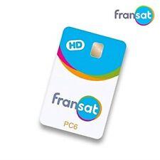 CARTE FRANSAT HD PC 6 valable 4 ans Neuve