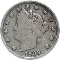 1909 Liberty V Nickel Fine FN