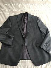 Calvin Klein Gray Suit Jacket Blazer Wool 44s Short