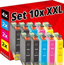 10x SET PATRONEN für EPSON Stylus S22 SX125 SX130 SX230 SX235W SX430 SX445