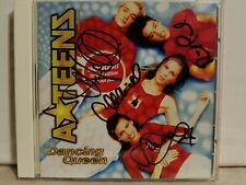 A*TEENS A TEENS: DANCING QUEEN 2 TRACK SIGNED AUTOGRAPHED CD SINGLE! MINT!