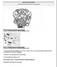 Manuel d'atelier Porsche Cayenne - 2003-2008 en Anglais sur CDRom