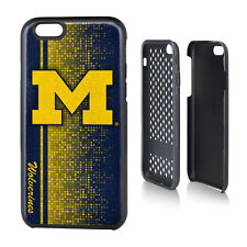 "Official NCAA Rugged Cover Case for APPLE iPhone 6 4.7"" - Michigan Wolverines"