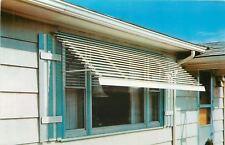 Rio Wisconsin~Dahlen & Son Weatherproofing~Flexalum Awning~Home~1950s Adv PC