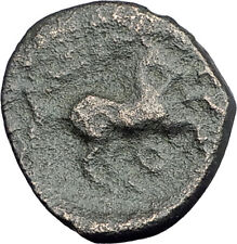 ALEXANDER III the GREAT Lifetime 336BC Ancient Greek Coin APOLLO & HORSE i62614