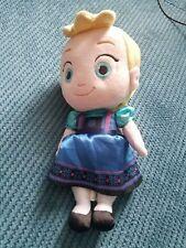 DISNEY STORE FROZEN ELSA TODDLER SOFT Toy DOLL