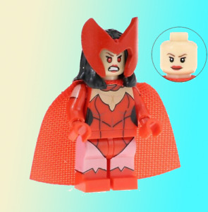 Wanda Vision Marvel Comics New Minifigure SCARLET WITCH Classic Costume lego MOC