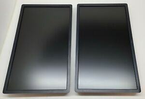 """Lot of 2 Dell P2412HB 24"""" Full HD 1920x1080 Widescreen LCD Monitor"""