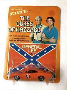 Vintage 1981 Ertl Dukes Of Hazzard General Lee 1/64 Toy Car MOC UNPUNCHED OG!!
