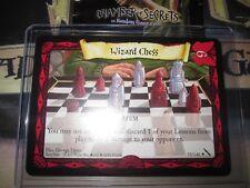 HARRY POTTER TCG CARD CHAMBER OF SECRETS WIZARD CHESS 55/140 RARE MINT ENGLISH