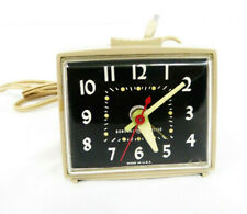 Vintage 60's General Electric Alarm Desk Clock 7268A Made in USA Rare Working