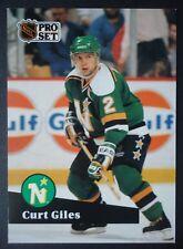 NHL 114 Curt Giles Minnesota North Stars Pro Set 1991/92
