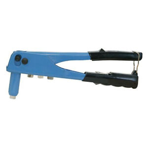 250mm Hand Riveter - Nozzles For 2.4mm 3.2mm 4.0mm 4.8mm - Easy Grip