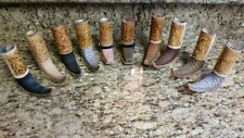 Mini Boot Tequila Shot Glass Leather - Original Artisan 1 pc Hand Made Assorted