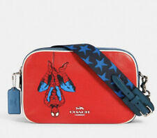 NEW Coach │ Marvel Jes Crossbody With Spider-Man ⚡️NOW ON SALE⚡️$378