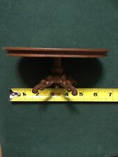"""1:12 Doll House Miniature Wooden Dinner Meeting Table 6"""" X 4"""" 1635 MW"""