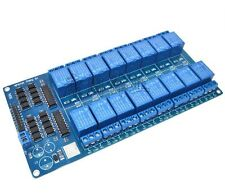 1PCS 16-Channel 5V Relay Shield Module with optocoupler For Arduino L