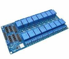1PCS 16-Channel 5V Relay Shield Module with optocoupler For Arduino NEW UK