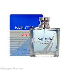 Nautica Voyage Sport Men Eau de Toilette Spray 3.4oz 100ml * New in Box Sealed *