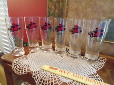 New listing Collectible Rare Set of 6 Classic Car 1912 Packard Landaulet Pilsner Glasses