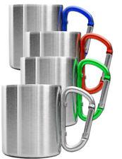OUTDOOR SAXX® Outdoor-Becher Camping-Tasse 200ml mit Karabiner-Griff in 6 Farben