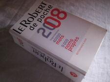 Dictionnaire Le Robert de poche 2008