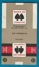 Old EMPTY cigarette packet paper pack Ardath Double Ace  #613