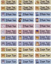 90 GLITTER CAT Custom Waterproof Name Labels-SCHOOL,NURSERY(Buy 5 get 1 FREE)