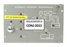 Varian 106564001 Automatic Cryopump Regeneration Controller Rev B No Key Spare