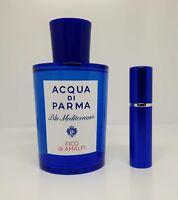 Acqua Di Parma - Blue Mediterraneo Fico Di Amalfi - 5ml SAMPLE Glass Decant