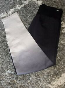 Vs pink ultimate high waist seamless tight new medium marbled grey ombre dip