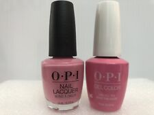 Opi Gelcolor + Matching Gel Polish Lima Tell You About This Color! (Nlp30/Gcp30)