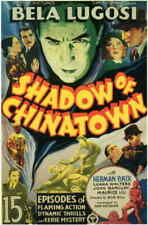 Shadow Of Chinatown 11x17 Movie Poster - Licensed | New | Usa | [A]