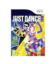 Nintendo Wii PAL version Just Dance 2016