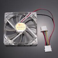 Quiet12cm Case Fan 12cm/120mm/120x120x25mm 12V Computer Silent Cooling Case Fan