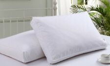 1/2/4x Luxury Feather & Down Box Pillows Cushion Extra Filled Washable FREE Gift