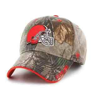 Cleveland Browns '47 Realtree Camo Frost MVP Adjustable Field Hat Cap NFL