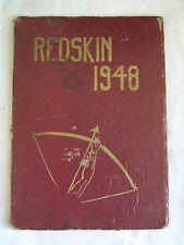 1948 CLE ELUM HIGH  SCHOOL YEARBOOK CLE ELUM, WASHINGTON  REDSKIN