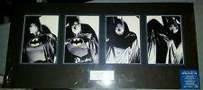 Batman: No Man's Land print set, signed by Alex Ross -- DC Comics 1999
