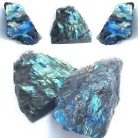Natürlicher rauer Kristallmondstein-roher heilender Mineralproben-loser Ede H6L8
