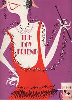 """Julie Andrews (DEBUT)  """"The Boy Friend"""" Souvenir Program 1954 Broadway OBC"""