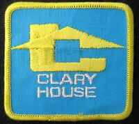 CLARY HOUSE EMBROIDERED SEW ON ONLY PATCH UNIFORM ADVERTISING