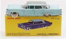 DINKY TOYS 1 / 43 ème  LINCOLN Ière  en boite  / jouet ancien