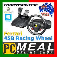 Thrustmaster Ferrari 458 Italia Racing Wheel PC Xbox 360 Gaming Controller Steer