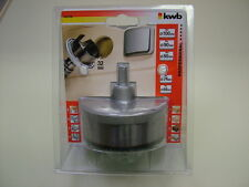 Holesaw hole cutter set 5-piece very large size 68,74,80,90 and 100mm included