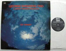 George SHEARING TRIO On target FRENCH LP MPS 15 551 (1982)  NMint/MINT