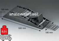 4 PART LEVEL RAMP for motorhome caravan leveller wheel chock
