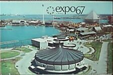 EXPO 67 MONTREAL POST CARD SET OF 4 (©1963