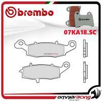 Brembo SC Pastiglie freno sinterizzate anteriori Kawasaki ER6F 650 dx 2006>2015